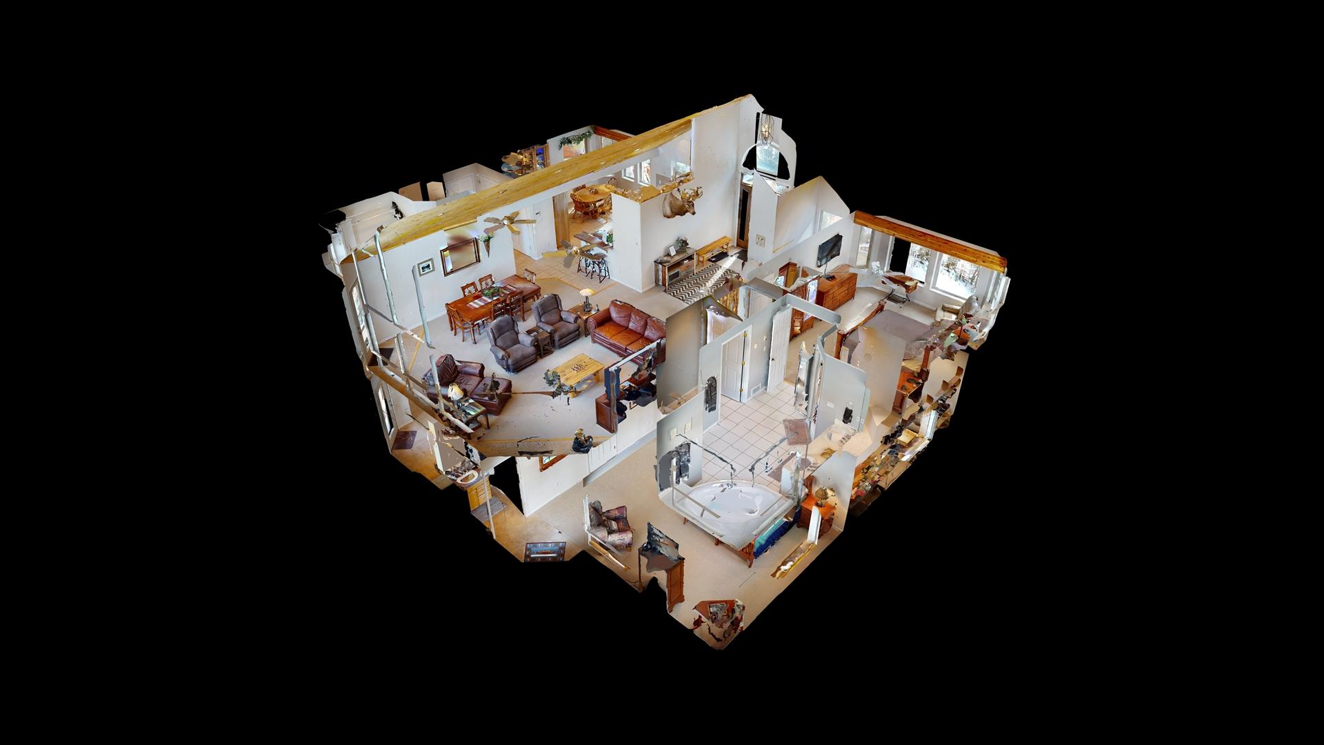 Floor Plan for Taylormade Getaway